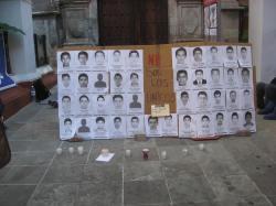 Photos of missing Iguala students